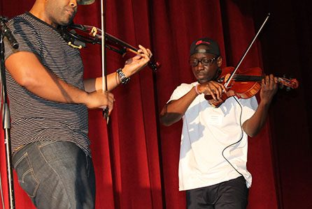 Black Violin Brings Their A-Game to Paint Branch