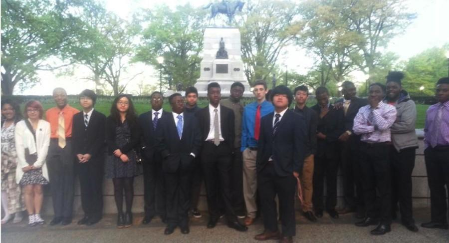 PB Students Attend White House Event
