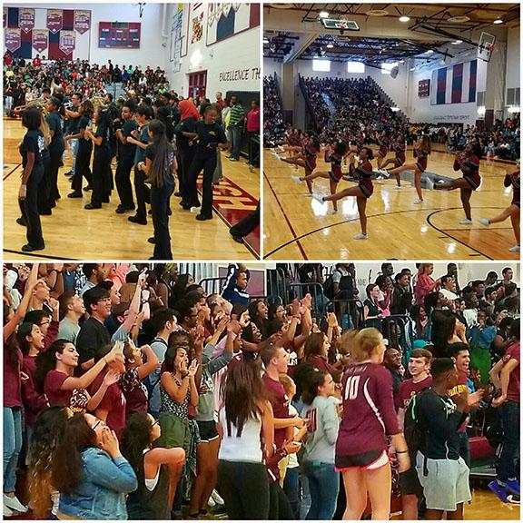 First Pep Rally Brings the Noise and the Spirit