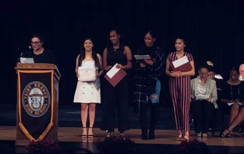 Seniors Celebrate  Academic Achievement