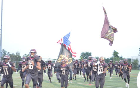 Panthers Overpower Warriors on Homecoming