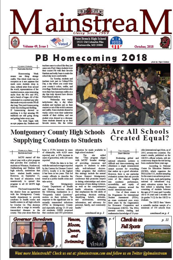 Mainstream, Issue 1: October, 2018 – Full Issue PDF