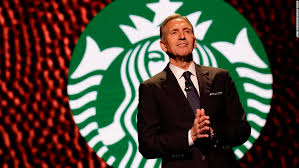 Is Something Brewing with  Howard Schultz for 2020?