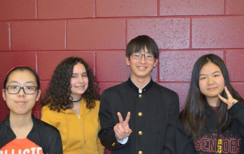 Panthers for a Day: Japanese Students Visit PB
