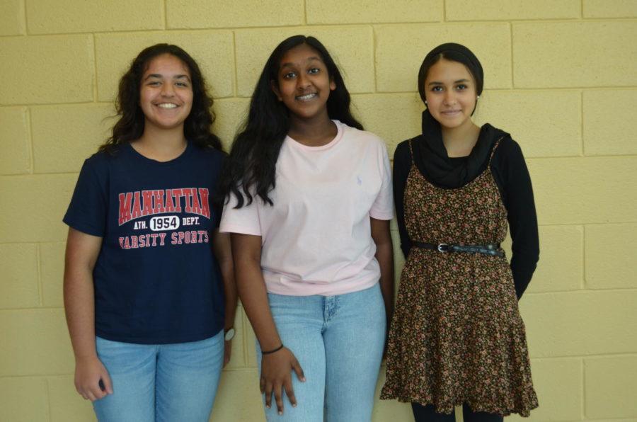 Zoya Masood, Nicole Kolluri and Noura Oseguera-Arasmou