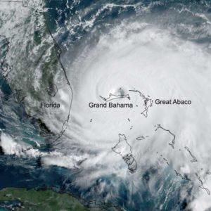 The Timeline and Wake of Hurricane Dorian