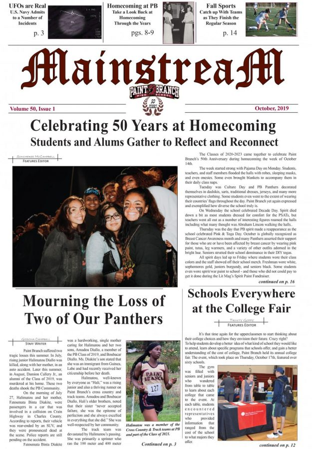 Mainstream, Issue 1: October, 2019 – Full Issue PDF