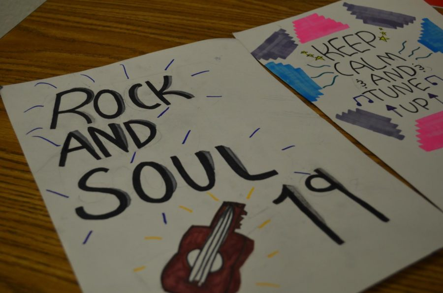 Each year Banneker Middle School puts on a student-centered show, Rock and Soul.