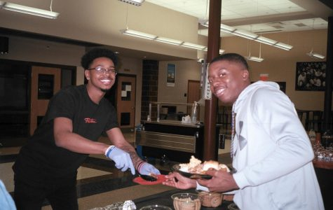 Students, staff, and community members enjoyed the BSU Potluck.