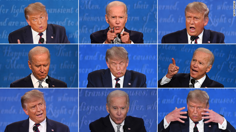 The+first+debate+on+September+29th+left+some+voters+shaking+their+heads+and+other+voters+laughing.
