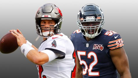 Tom Brady and the 3-1 Bucs take on Khalil Mack and the 3-1 Bears in a key early season matchup.