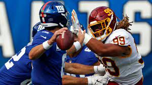 Week 2 of the NFL season began with the Giants travelling to DC to take on the Washington Football Team.
