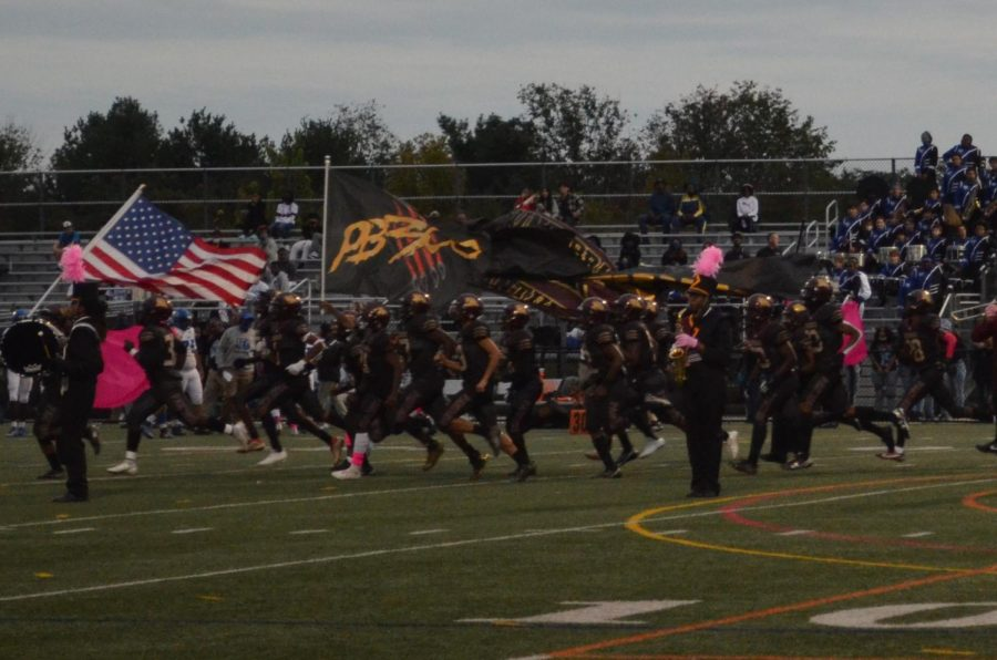 Paint Branch Football Triumphs over Blake Bengals